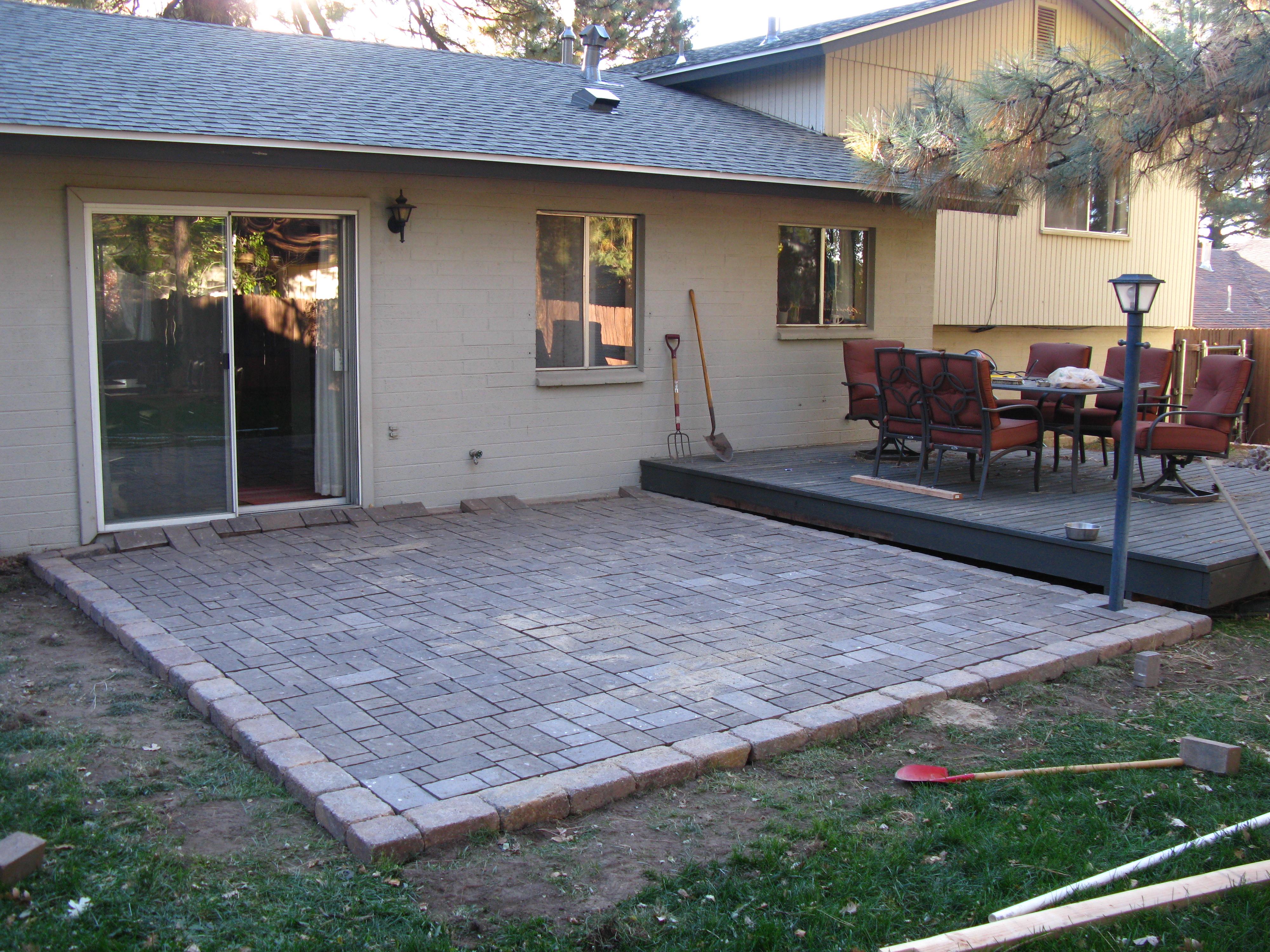 Paver patio designs diy stain second sun co