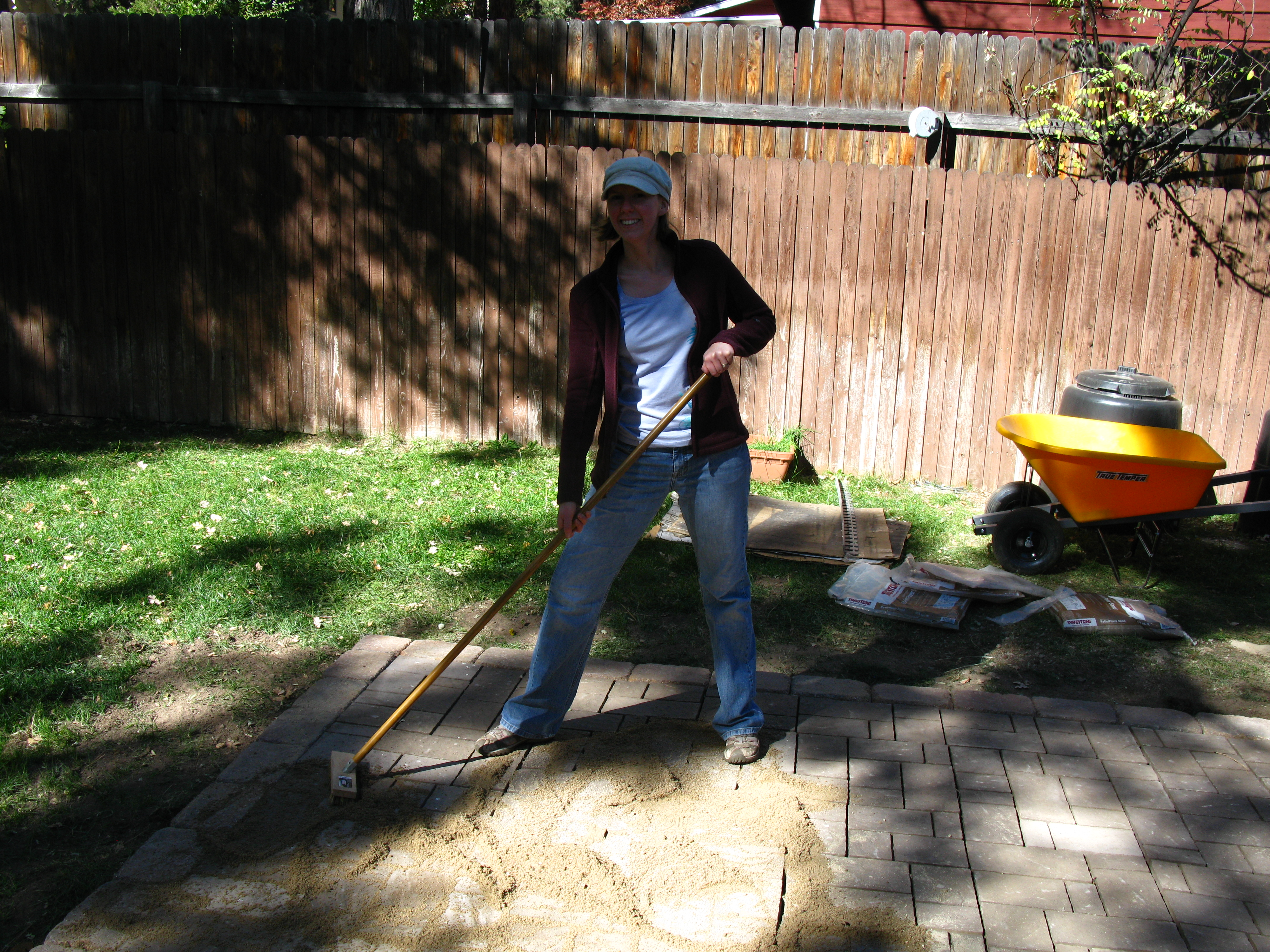 how to build cement slab
