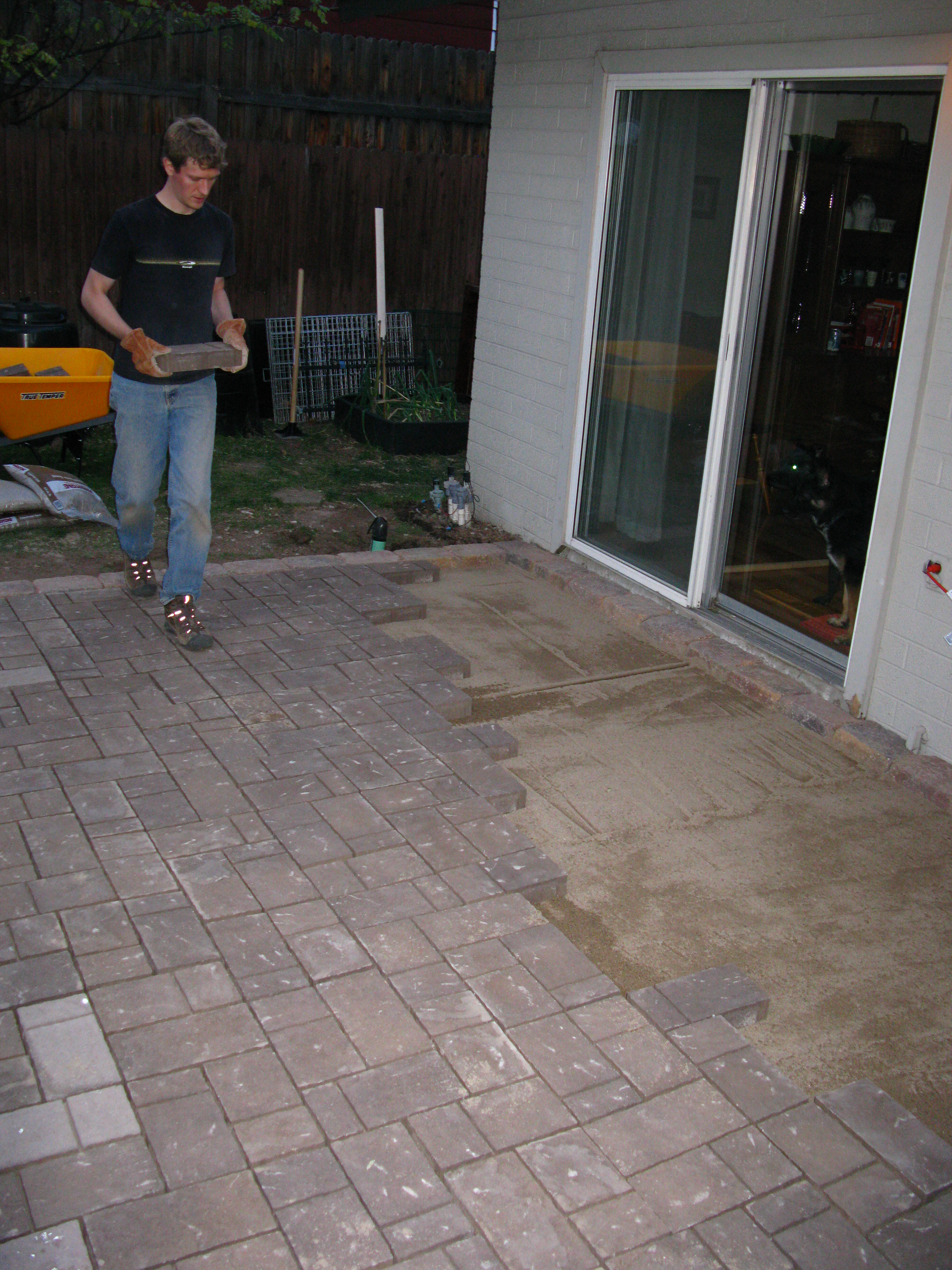Thin Pavers Home Depot Diy  Ryan Anderson